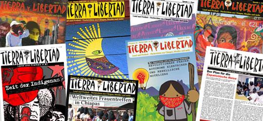 »Tierra y Libertad« - Land und Freiheit